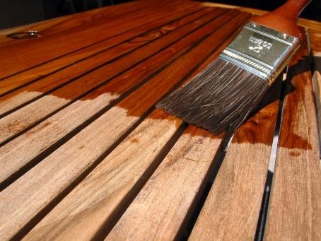προστασία ξύλου με βερνίκι Titanxyl Teak Oil Titan