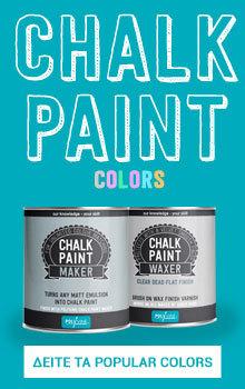 chalk paint banner
